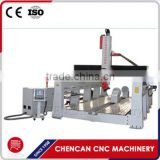 Spindle Rotating 4Axis 3D Foam Wood Mold Engraving/Carving Machine CNC Machine CNC Router with 4th Rotary