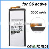 High Capacity 3500mah Original Wholesale Mobile Phone Polymer Lithium Battery For Samsung S6