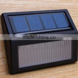 Solar Lights Wall Lamp Waterproof Garden Light Outdoor Landscape Lawn Lamp 6 LEDs Fence Solar Wall Lamps