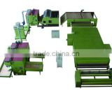 Nonwoven Glue Free Wadding Production Line For Quilts WJM-3