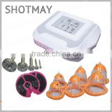 shotmay STM-8037 New product healthcare vibrating vacuum uplift breast enlargement massager with high quality