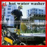 2013 industry motor drive fuel heating hot water high pressure jet cleaner