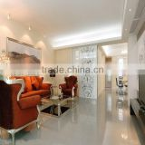 24x24 red color nano porcelain POLISHED tiles for vila
