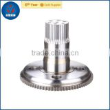 China precision carbon steel output gear shaft