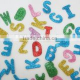 15091222 Factory Best-selling letter glitter Foam Sticker/Eva foam custom stickers/3D foam stickers