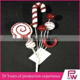 China factory supply crafts decorations christmas decorations candy canes for christmas market