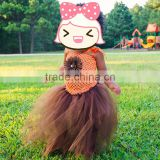 european and american style pettiskirt dresses for girls fashion boutique baby tulle skirt girl tutu skirt