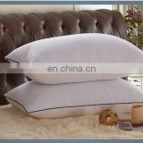 Luxury comforte feather silky pillows used for star hotel