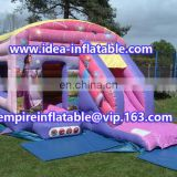 classical inflatable jumping house combo bouncy castle ID-CB088