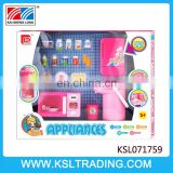Nice design kitchen appliances set plastic toy for good sale