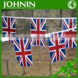 Promotional Coated Paper excellent quality string flag