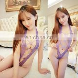 Chaozhou Supplier Hot Fashion Women Open Purple Nice Lace Sexy Mature Ladies Underwear Nude Beauty Love Sexy Lingeries