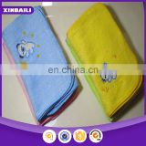 High quality super soft embroidery designs 100% cotton baby towel
