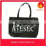 nonwoven bag with iron ring on handle