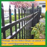 Tubular steel fence cheap metal residential fencing