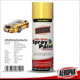Aeropak Metallic Gold Mirror Effect Silver Chrome Spray Car Paint