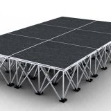 light portable mobile wedding stage platform for events