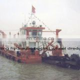 Large Sand Bucket Wheel Dredger