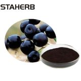 Food Additives Black Barbury Wolfberry Fruit extract Anthocyanin For Beverage