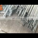 DN 20 hot dipped galvanized round steel pipes, 26.9mm erw zinc coating steel tube meter price