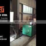 china spiral steel pipe hot rolled spiral welded steel pipe CORTI'S TUNNEL