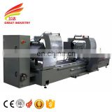 High precision double head cnc cutting 22.5~135degree compound mitre saw for aluminum profiles window and door