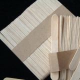 Disposable Wooden Ice Cream Stick Custom Popsicle Sticks  Whatapp/wechat 008613824555378