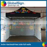 Shanghai GlobalSign Aluminum or Steel pop up tent                                                                         Quality Choice