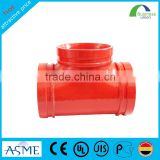 big size T type all socket ductile iron tee pipe fitting