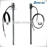 F300 stainless steel capacitance water fuel tank level sensor high resolution with 0-5v output