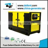 Dellent water cooled silent weichai engine diesel power generators price from 10kw -1500kw 230/400V