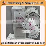 Printing Eco-friendly Paper Joker Tag for Clothing                                                                         Quality Choice