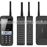 2015 China newest 4sim card mobile phone big battery 2 way radio walkie talkie cellphone                                                                         Quality Choice