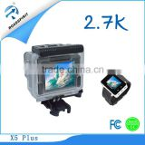 Factory Price Supply Ambarella A7 Chipset Action Camera 1296P Remote Control Sport Action Camera