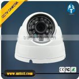 HD AHD 720P CMOS sensor color IR 20M 3.6mm fixed lens 1.3MP dome cctv camera with mental housing for security cctv sy