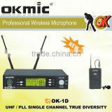 OK-1D Lapel wireless micrphone True Diversity