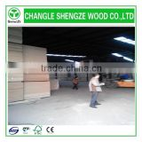 different thickness 1220*2800mm Raw/plain MDF board Germany production line from China