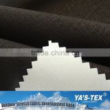 Black Nylon Breathable Waterproof Fabric PTFE Membrane Coated Fabric Nylon Stretch Fabric