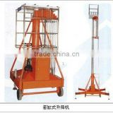 hydraulic single ladder anti-rotating telescopic cylinder lifter