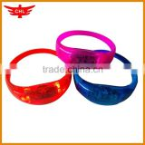 Silicone led bracelet,sound activated silicone led bracelet,fashion silicone led bracelet