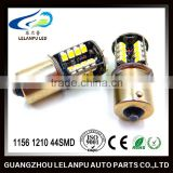 hot sale 12V led car light 1156 1157 1210 44smd parking light bulbs ba15s bay15d auto led lamp