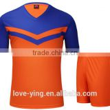 2016 new arrivel hotsale factory price wholesale sportswear albanian soccer jersey and ball