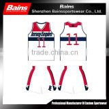 High quality custom white basketball jersey design&basketball jersey uniform&basketball jersey wholesale