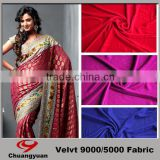Good Quanlity Polyester Mirco Velvet 5000/9000 Woven Fabric Polyester Fabric For Women Dresses