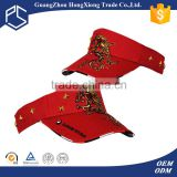 Alibaba Trade Assurance Custom embroidered foam long bill sun visor cap