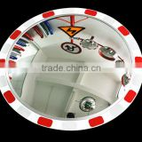 security side wide angle view mirror reflective concave mirror,Plastic concave convex mirror for road safety
