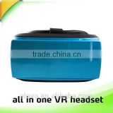 VR glasses 3d vision all in one integrated VR glasses box headset watch 3D movie is more convenient