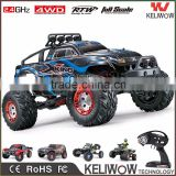 4WD 2.4G Electric Powerful Remote Control Car Brushed/ Brushless High Speed RC Monster Truck With 40-75km/h                                                                         Quality Choice