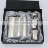 hip flask set wine barrels stainless steel, wedding gifts for guests houseware factories whisky industry hot sale 2015