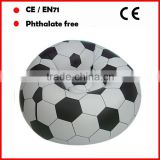 football inflatable sofa/ air chair/cheap inflatable sofa/inflatable football sofa for promotional